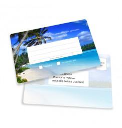 Carton réponse billet d'avion