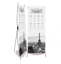 Table plan banner paris corset