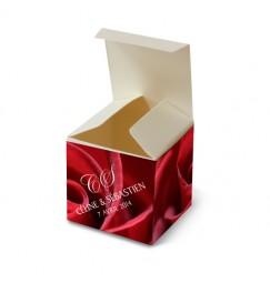 Wedding favor box summer rose
