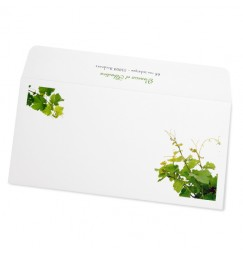 Wedding envelope vine