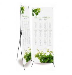 Plan de table mariage la vigne