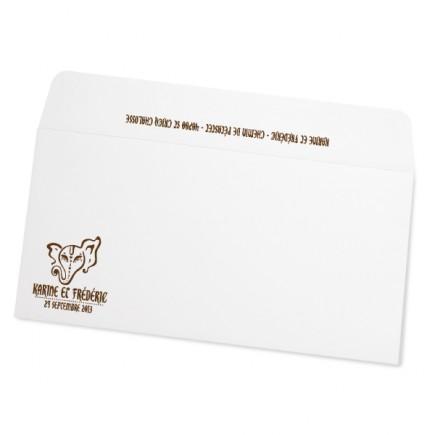 Wedding envelope indian gold