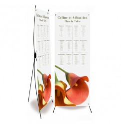 Table plan banner arum