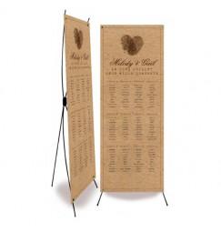 Plan de table mariage vintage photomaton
