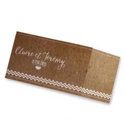 Wedding invitation craft waves