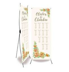 Table plan banner country clover