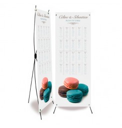 Table plan banner corset gourmand