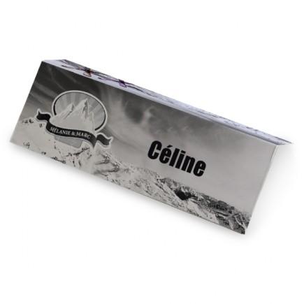 Place card ski