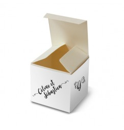 Wedding favour box love letter