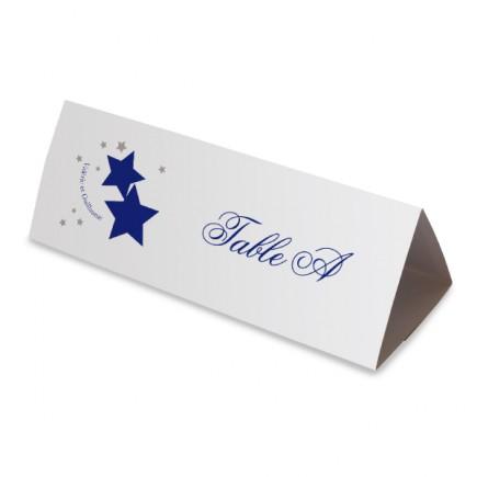 Table name stars