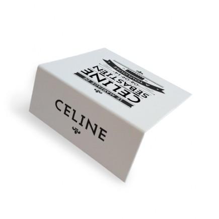 Place card black and white art nouveau