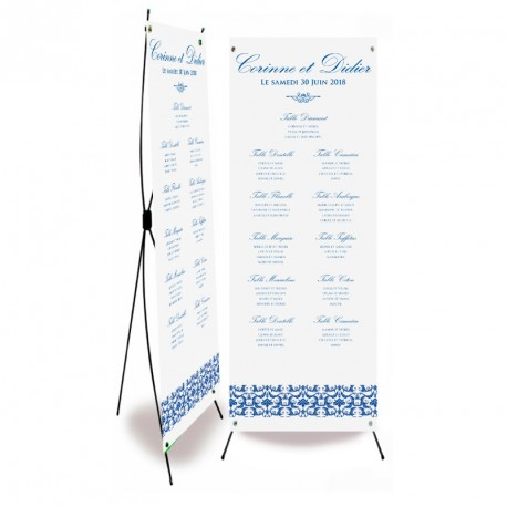Plan de table mariage flower reef