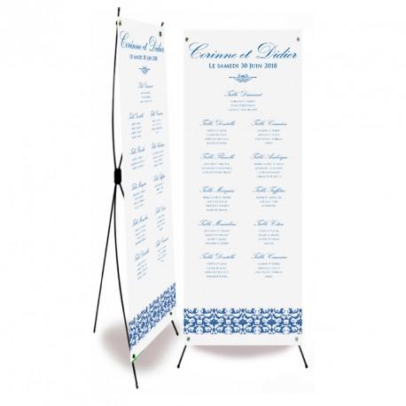 Table plan banner flower reef
