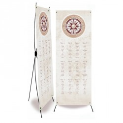 Table plan banner voyage pocket