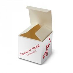 Wedding favour box enfin