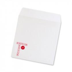 Wedding envelope scribble