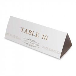 Nom table corset arabesque