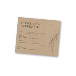RSVP card yanagi