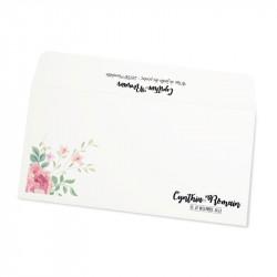 Wedding envelope flower wrap