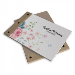 Wedding book flower wrap