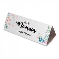 Table name flower wrap