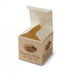 Wedding favour box vigneto