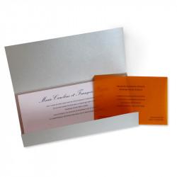 Wedding invitation italian classic