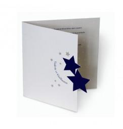 Wedding invitation stars