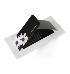 Wedding invitation daisy wrap