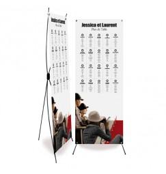 Table plan banner festival de cinéma