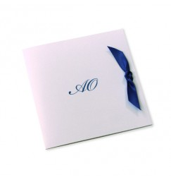 Wedding invitation tie the knot