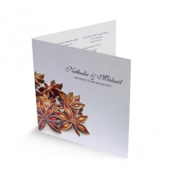 Wedding invitation spices