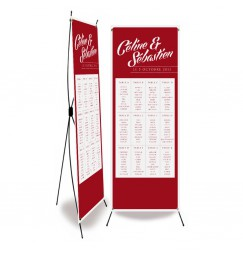 Table plan banner scribble